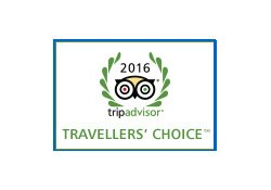 TripAdvisor Travellers' Choice 2016